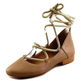 Kelsi Dagger Deandrars Women  Round Toe Leather  Flats