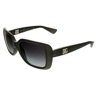 Dolce & Gabbana DG6093 26768G Grey Rectangle