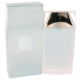 Chrome Sport by Azzaro Eau De Toilette Spray 3.4 oz - Men
