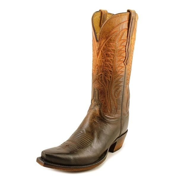 Lucchese Maxine   Pointed Toe Leather  Western Boot