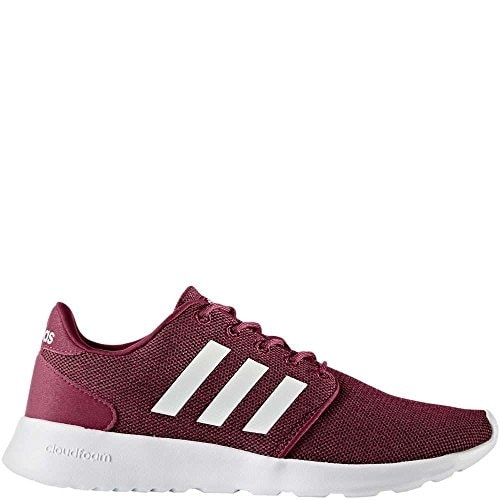 online store ca701 b176f Shop adidas Womens CF QT Racer W Running Shoe, Mystery RubyWhiteBlack -  Free Shipping Today - Overstock - 20985498