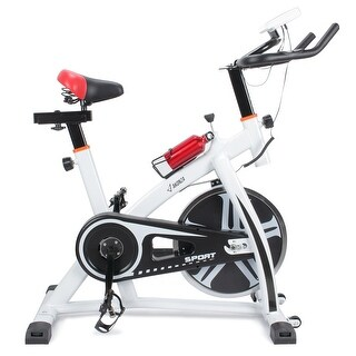 Akonza Pro Exercise Bike Indoor Cycling Bicycle Gym Heart Pulse Trainer Bottle Holder