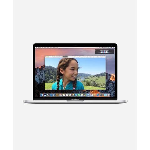Macbook Pro 13.3-inch (Retina, Silver, Touch Bar) 3.3Ghz Dual Core i7 (Late 2016) 750 GB Hard Drive 8 GB Memory - Silver