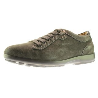 Geox Respira Mens Mantra A Suede Lace-Up Fashion Sneakers - 12