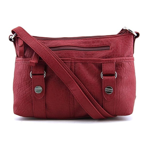 Rosetti Triple Play Mindy Mini Crossbody Women Synthetic Red Messenger