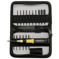 General 63518 Precision UltraTech Multi-Bit Screwdriver Set, 18 Piece