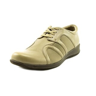 Softwalk Topeka W Round Toe Leather Sneakers