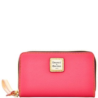 Dooney & Bourke Carley Zip Around Phone Wristlet (Introduced by Dooney & Bourke at $108 in Nov 2014) - Hot Pink