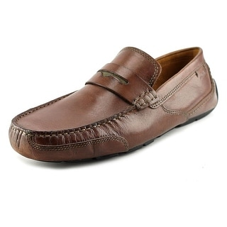 Clarks Ashmont Way Round Toe Leather Loafer