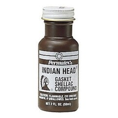 Permatex 20539 Indian Head Gasket Shellac Compound, 2 Oz