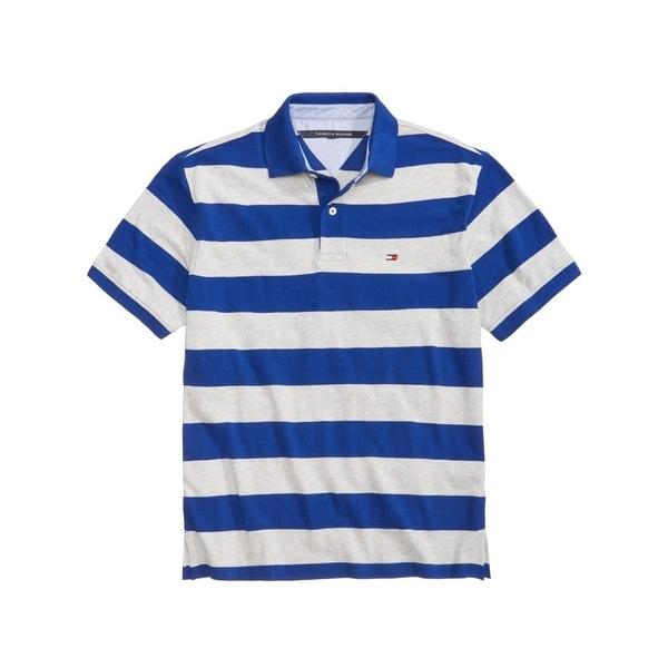 123e0942ec3 Shop Tommy Hilfiger Mens Big   Tall Polo Shirt Striped Blazer - Free ...