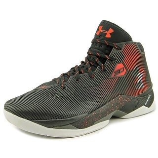Under Armour Curry 2.5 Men Round Toe Synthetic Black Basketball Shoe