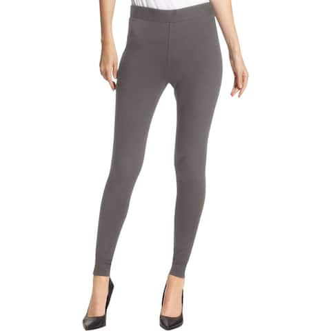 Vince Camuto Womens Core Essentials Leggings Solid Flat Front