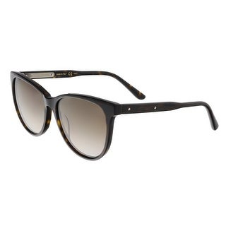 Bottega Veneta BV0021/S 005 Havana Cateye Sunglasses - havana-brown - 55-16-140