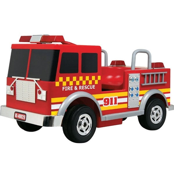 Kalee 12v Red Ride-On Fire Truck