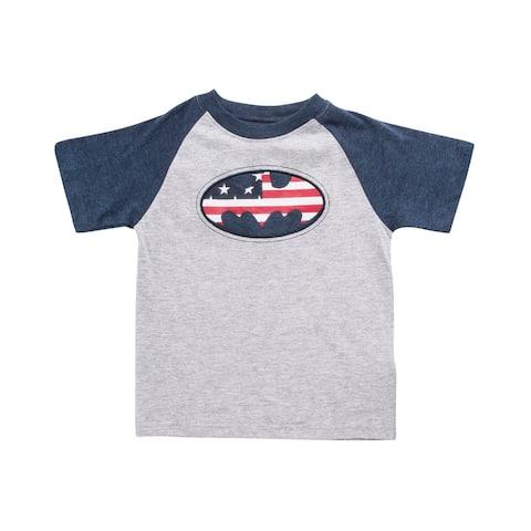 USA Themed Batman Toddlers T-Shirt
