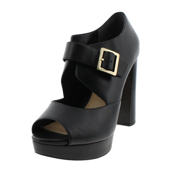 03b46442b3b MICHAEL Michael Kors Womens Eleni Platform Sandals Casual Peep Toe - 10  medium (b