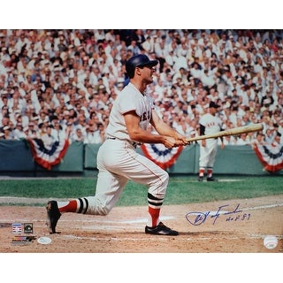Carl Yastrzemski Autographed Boston Red Sox 16x20 Photo HOF JSA
