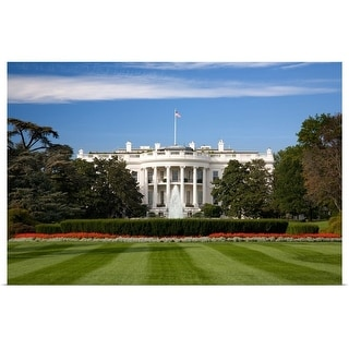 """""""The White House"""" Poster Print"""