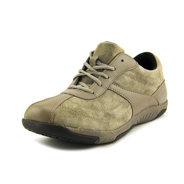 Propet Jodie Women N/S Round Toe Suede Gray Sneakers