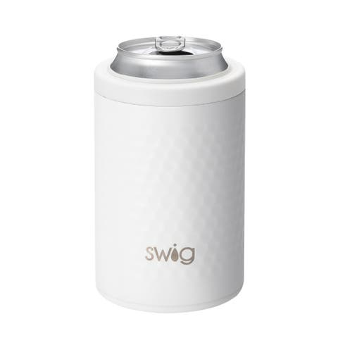 Occasionally Made Swig Can Cooler - BPA Free Stainless Steel Insulated Golf Ball Travel Tumbler, Holds 12 Ounces