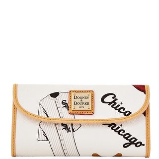Dooney & Bourke MLB Chicago White Sox Continental Clutch (Introduced by Dooney & Bourke at $128 in Feb 2014)