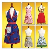 All Sizes In One Envelope - Aprons