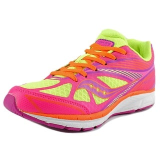 Saucony Kinvara 4 Round Toe Synthetic Running Shoe
