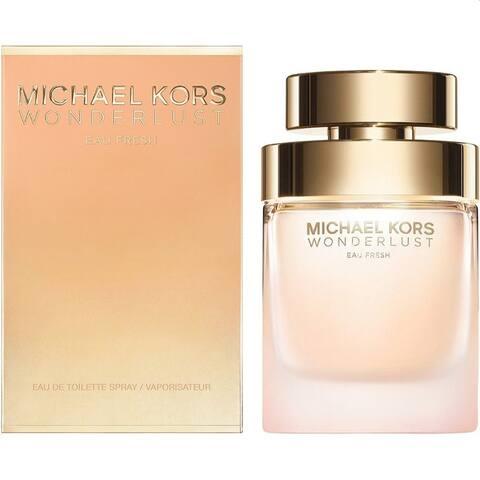 Michael Kors Wonderlust Eau Fresh Edt Eau De Toilette Spray For Women 1.7 OZ