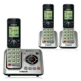 Vtech CS6429-3 3 Handset Expandable Cordless Phone DECT 6.0 1.9GHz New