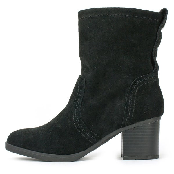 White Mountain Womens BEHARI Almond Toe Ankle Fashion Boots