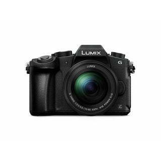 Panasonic LUMIX G85 4K Mirrorless Interchangeable Lens Camera Kit, 12-60mm Lens