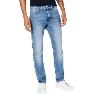 Link to Calvin Klein Mens Taper Athletic Fit Jeans, Blue, 29W x 30L - 29W x 30L Similar Items in Pants