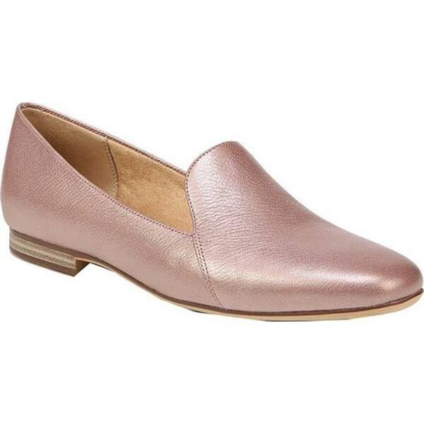 bf538c6aa90e Shop Naturalizer Women's Emiline Loafer Rose Gold Leather - Free ...
