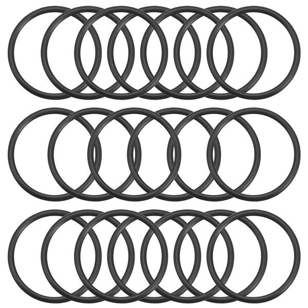 O-Rings Nitrile Rubber Gasket, 37mm Inner Diameter, 44mm OD, 3.5mm Width, 20pcs