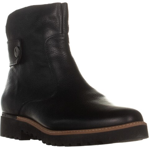 Franco Sarto Chevelle Zip Up Ankle Boots, Black