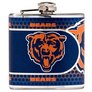 Great American Products Chicago Bears Flask Stainless Steel 6 oz. Flask