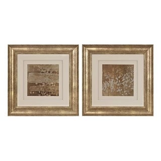 """Sterling Industries 151-014/S2 22"""" Art Prints - Golden Rule Shadow Box I and II - Set of Two - N/A"""