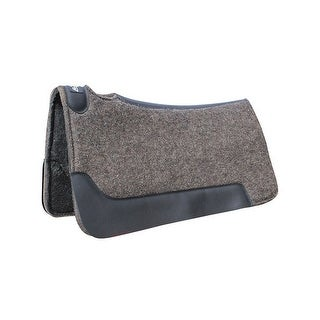 Professionals Choice Saddle Pad Felt Barrel 29 x 30 Charcoal CFBAR - 29 x 30