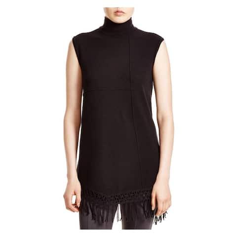 Nic + Zoe Womens Show Stop Tunic Sweater Modal Knit