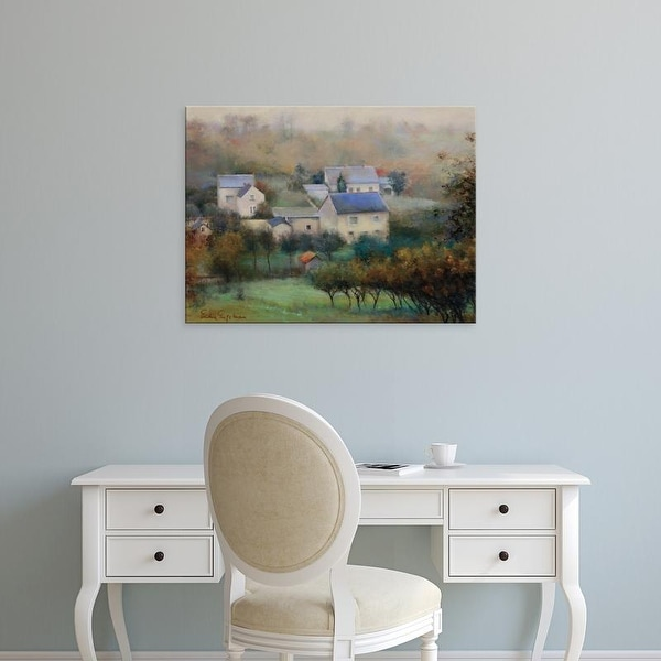 Easy Art Prints Esther Engelman's 'Countryside Hamlet' Premium Canvas Art