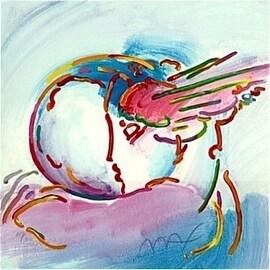 I Love the World, Ltd Ed Silk-screen, Peter Max