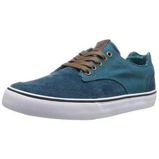 Dekline Mens Tim Tim Skate Shoes Suede Contrast Trim
