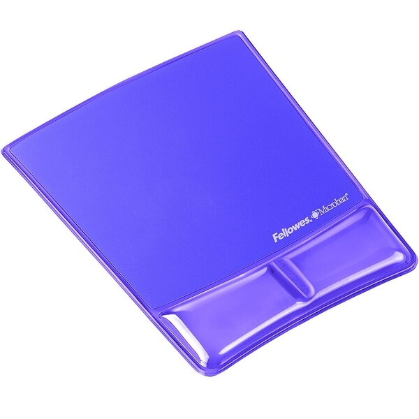 Fellowes, Inc. - Mousepad/Wrist Support W/Microban - Purp
