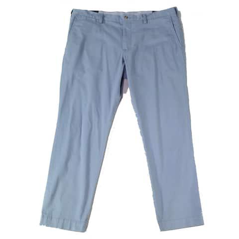 Polo Ralph Lauren Mens Pants Blue Size 38X32 Slim Fit Chino Stretch
