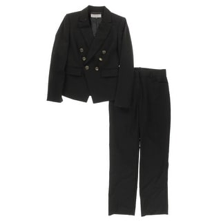 Tahari Womens Petites Pant Suit 2PC Double-Breasted - 2p