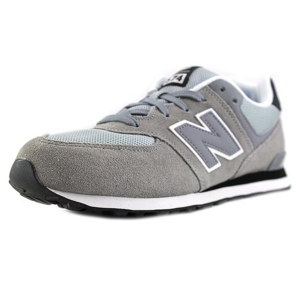 New Balance KL574 Youth Round Toe Suede Blue Running Shoe