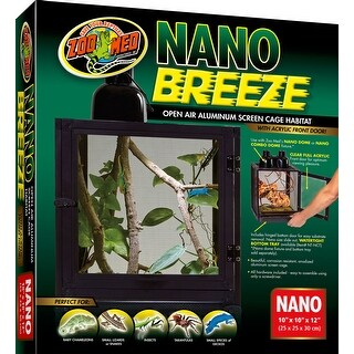 Nano Breeze Alumuninum Screen Cage