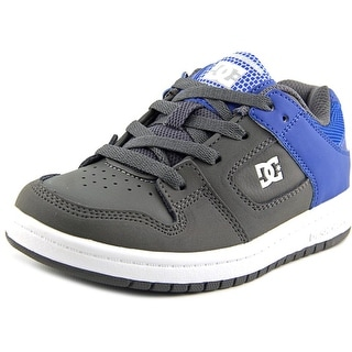 DC Shoes Manteca Youth Round Toe Leather Skate Shoe