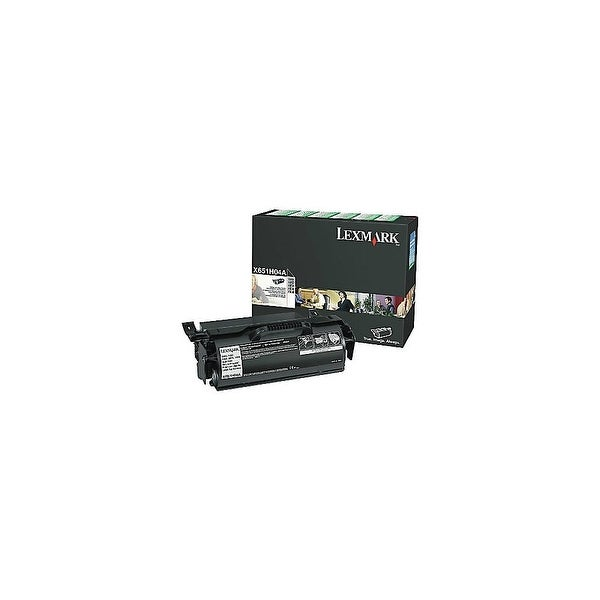 Lexmark X651H04A High Yield Black Toner Cartridge For X651de / X656dte -25000 Pages